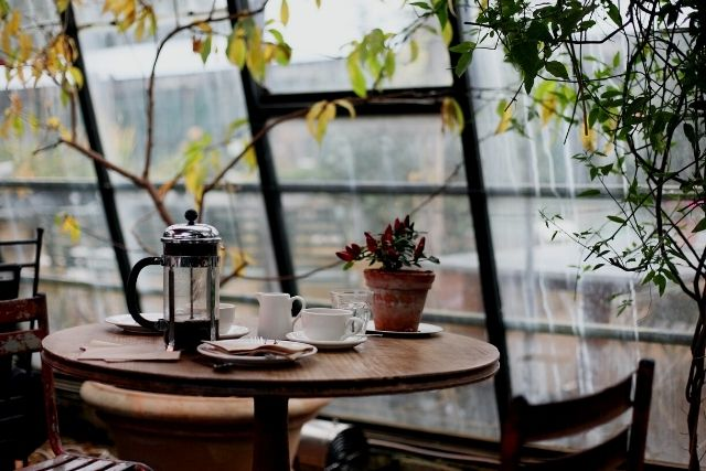 アメリカンなカフェ